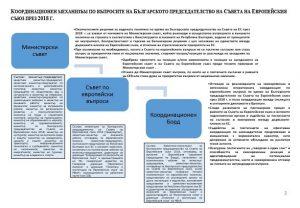 координационен борд EU2018BG